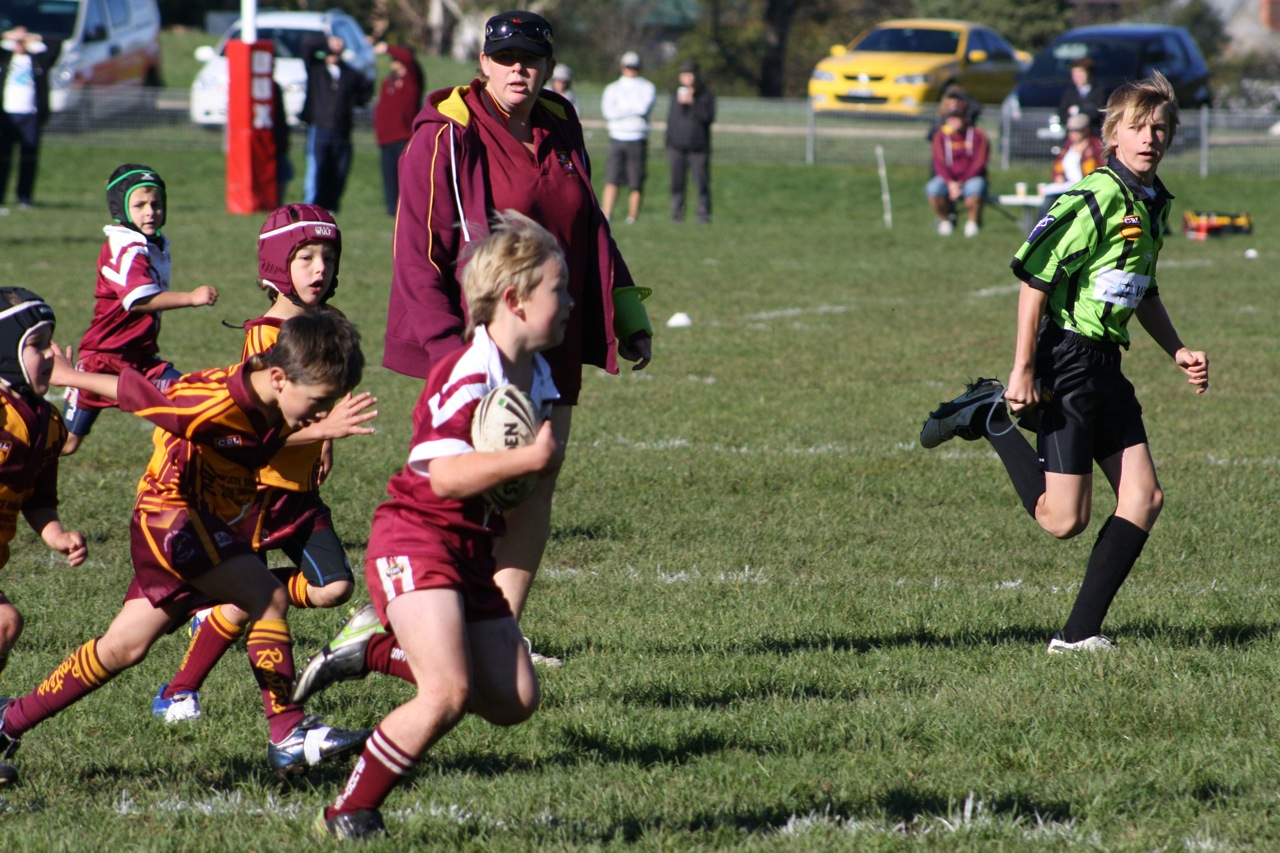 Round 5 v Thirlmere Tahmoor Roosters | Junior Spuddies